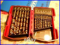 MAC Tools 29 Piece Cobalt Drill Bit Set # 6338DSB New Un-Used Set