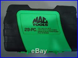 MAC Tools 29pc Cobalt Grade Drill Bit Index Set in Green 6338DSB-G
