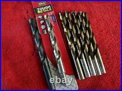 MAC Tools 29pc Cobalt Grade Drill Bit Set 6338DSA, 1/16 1/2 x 1/64, VG/EXC