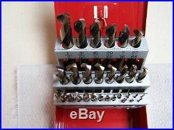 MAC Tools High Speed Cobalt Grade 29 piece 1/2 1/16 X1/64 Drill Bit Set-USA
