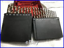 Mac Tools 21pc 1/16 -3/8 X 1/64 Cobalt Grade Short Length Drill Bit Set