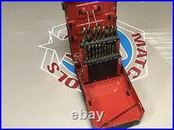 Mac Tools 21pc Cobalt Grade Drill Bit Set Short Stubby 3721DSA