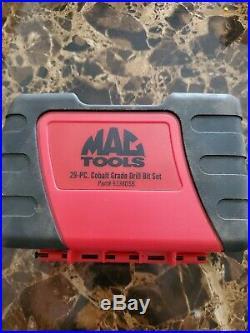 Mac Tools 29 Piece Cobalt Grade Drill Bit Set