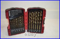 Mac Tools 29pc Cobalt Grade Drill Bit Set (6338DSB) New