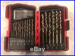 Mac Tools 29pc Cobalt Grade Drill Bit Set (New)