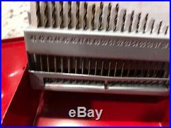 Mac Tools 60pc High Speed Steel Drill Bit Set 8360DS Cobalt Grade