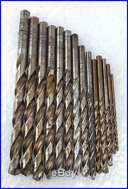 Mac Tools 6338DSA Cobalt 1/16'' 1/2'' x 1/64 Drill Bit Set 28 Pieces