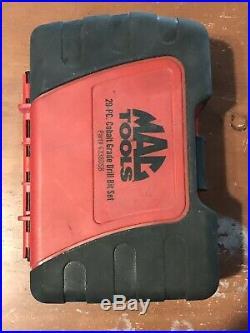 Mac Tools 6338DSB 29-piece Cobalt Grade Drill Bit Set