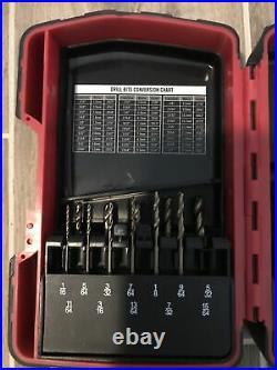 Mac Tools Shorr Length Cobalt Drill Bit Set (Missing 5/32 & 1/4)