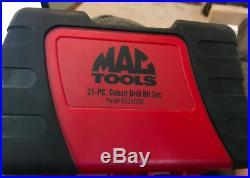 Mac Tools brand new 21 piece cobalt drill bit set all lifetime warranty thru mac