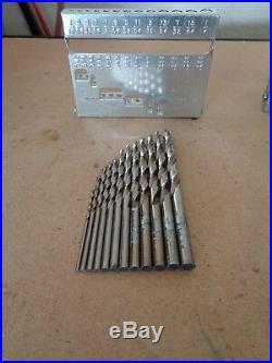 Matco 29pc DMC29 Cobalt Drill Bit Set 1/8 1/2