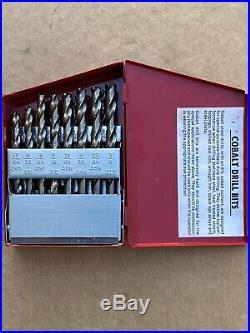 Matco Tools 21pc Cobalt Drill Bit Set Fractional DMC21