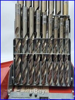 Matco Tools Dmc29.28 PIECE (MISSING 1 BIT) COBALT DRILL BIT SET 5044280-14