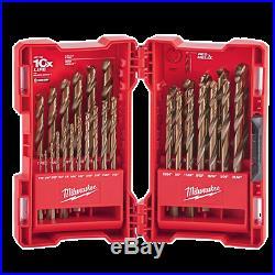 Milwaukee 29 Pc RED HELIX Cobalt Drill Bit Set 48-89-2332