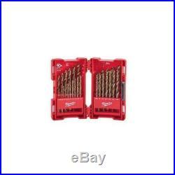 Milwaukee 29 Piece Cobalt Red Helix Drill Bit Set 48-89-2332
