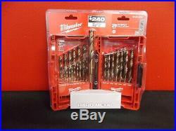 Milwaukee 48-89-2332 29 Piece Cobalt Drill Bit Set Nib