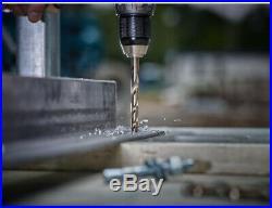 Milwaukee Cobalt Drill Bit Set Twist Bits Drilling Power Tool Accessory 29 Piece