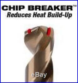Milwaukee Cobalt Drill Bit Set Twist Power Tool Accessory Bits Heavy Duty 29 pcs