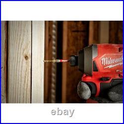 Milwaukee Driver Bit Set Cobalt Drill Hex Impact Duty Steel Power Tool 66 Piece