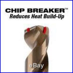 Milwaukee Heavy Duty Cobalt Drill Bit Set Twist Hard Metal Power Tool 29 Piece