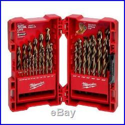 Milwaukee Helix Drill Bit Set 3-Flat Secure-Grip Cobalt Red (29-Piece)