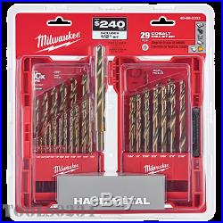 Milwaukee Tools 48-89-2332 RED HELIX Cobalt Drill Set 29 Piece