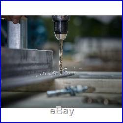 Milwaukee Twist Drill Bit Set 135-Degree Split Point RED HELIX Design (29-Piece)