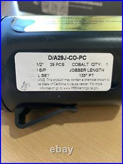 Missing Parts 1/16 1/2 Cobalt Jobber Drill Bit Set (B1)