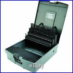 Morse Cutting Tools 18168 Jobber Length Drill Set, Cobalt, Wire Gauge Size, &