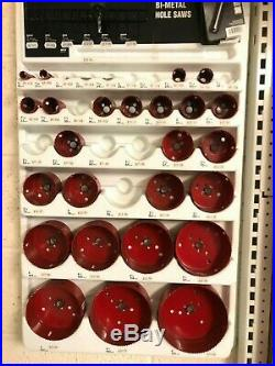 Morse Master Cobalt Bi-Metal Hole Saw 16mm 152mm 30pc Set