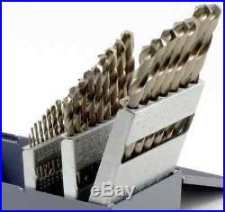 NEW Bosch 29-Piece Twist Drill Impact Bit Set Heavy-Duty Cobalt Bits with Case