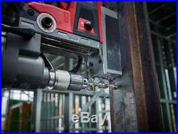 NEW Milwaukee 15-Piece Twist Drill Bit Set Heavy-Duty Cobalt Steel Bits withCase
