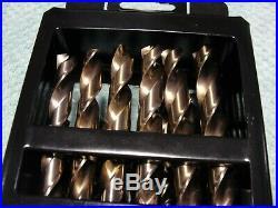 NIP-Craftsman 964086 Drill Bits Professional Cobalt 9/16 to 1/2 Set of 29