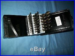 NOS Snap-on DBTBC129 29 Piece High Speed COBALT ThunderBit Drill Bit Set 135°