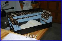 New 115 Piece Cobalt Drill Bit Set Durable Metal Storage Case Tool Machine Shop