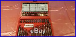 New Snap On EXD35 35-Piece Master Screw Extractor Set LH Cobalt Drill Bit Set
