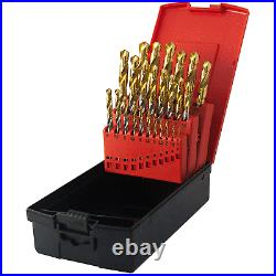 Osborn Goldex 25 Piece HSS-E Tin CoBalt 1 13mm By 0.5mm Drill Set
