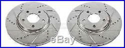 Power Stop AR8293XPR Drilled & Slotted Front Rotor Set for Cobalt/Malibu/G6