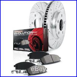 Powerstop 2-Wheel Set Brake Disc and Pad Kits Front New Chevy K1610