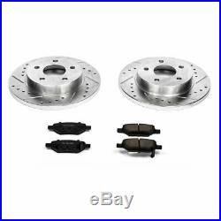 Powerstop 2-Wheel Set Brake Disc and Pad Kits Rear New for Chevy K1616
