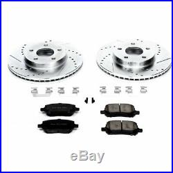 Powerstop Brake Disc and Pad Kits 2-Wheel Set Front New for Chevy K2983