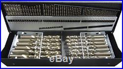 Precision Twist C115COMBCSET 115-Piece Cobalt Drill Set, 1/16-1/2 x 64 Ths, A-Z