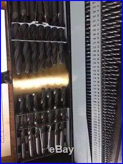 Precision Twist C115COMB 115-Piece Cobalt Drill Set, 1/16-1/2 x 64 Ths, A-Z