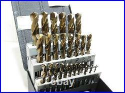 Precision Twist Drill 29 Pc Bronze Cobalt Screw Machine Length Drill Set 099962