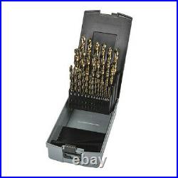 Precision Twist Drill C29r10coset Hss-E Jobber Drill Set, Bronze