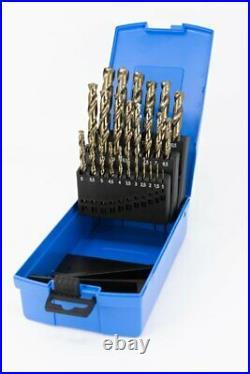 Presto HSCo 8% Cobalt 29pce Jobber Drill Set Imperial Sizes 1/16-1/2x1/64