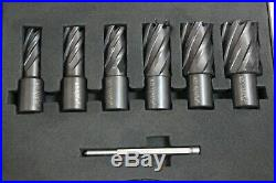 Pro. Point 6PC HSS M35 Cobalt Annular Cutter Set