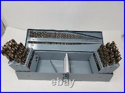 READ! COMOWARE Cobalt Drill Bit Set- 115Pcs M35 High Speed Steel Twist Jobber
