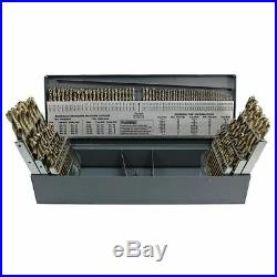 Rushmore RM115CO 3-in-1 Combo Cobalt HD Screw Machine (Stub) Drill Set-115 Pcs
