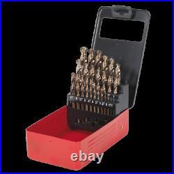 SEALEY AK4702 BOXED COBOLT DRILL SET 25 Piece METRIC